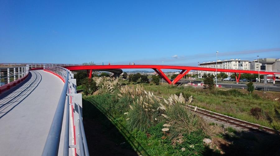 Se inaugura la pasarela de Raos en Santander - 3