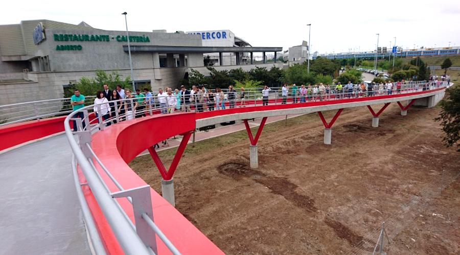 Se inaugura la pasarela de Raos en Santander - 6