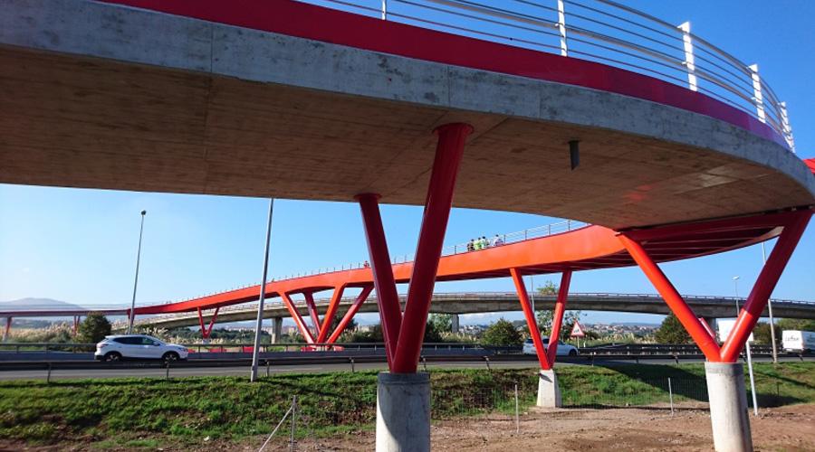 Se inaugura la pasarela de Raos en Santander - 5