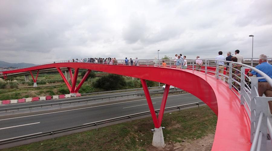 Se inaugura la pasarela de Raos en Santander - 4